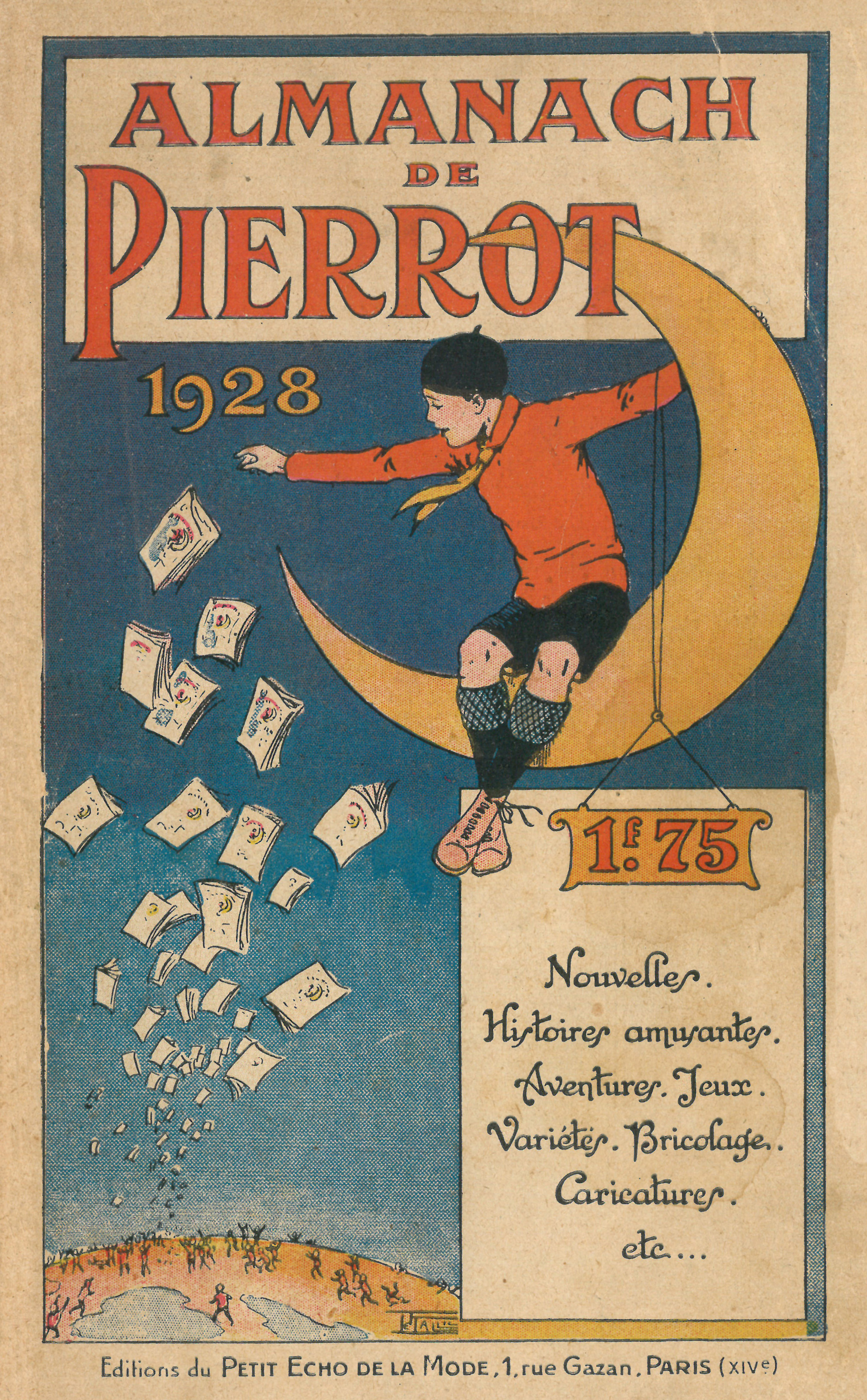 1928- Pierrot